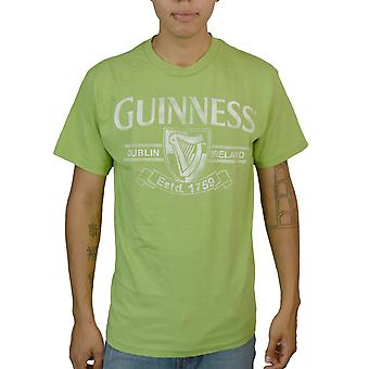 Guinness Retro Logo grøn T-shirt