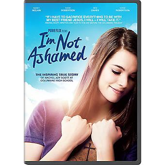 I'm Not Ashamed [DVD] USA import