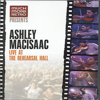 Ashley Macisaac - Live på Rehersal Hall [DVD] USA importen