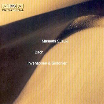 J.S. Bach - Bach: Inventions and Sinfonias, Bwv772- 801 [CD] USA import