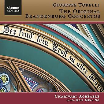 T. Giuseppe - Torelli: Den oprindelige Brandenburg koncerter [CD] USA import