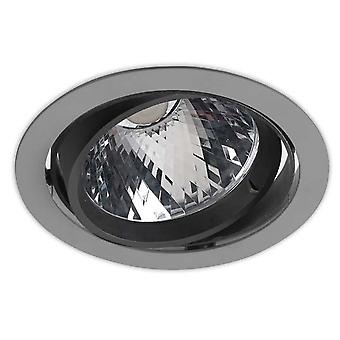 Leds C4 Empotrable De Techo Cardex C 1xLed Cree 40,2W gris (Home , Lighting , Downlights)