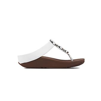 FitFlop Women's Halo Sandals - Urban White
