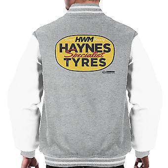 Haynes merkevare HWM spesialist dekk menn Varsity jakke