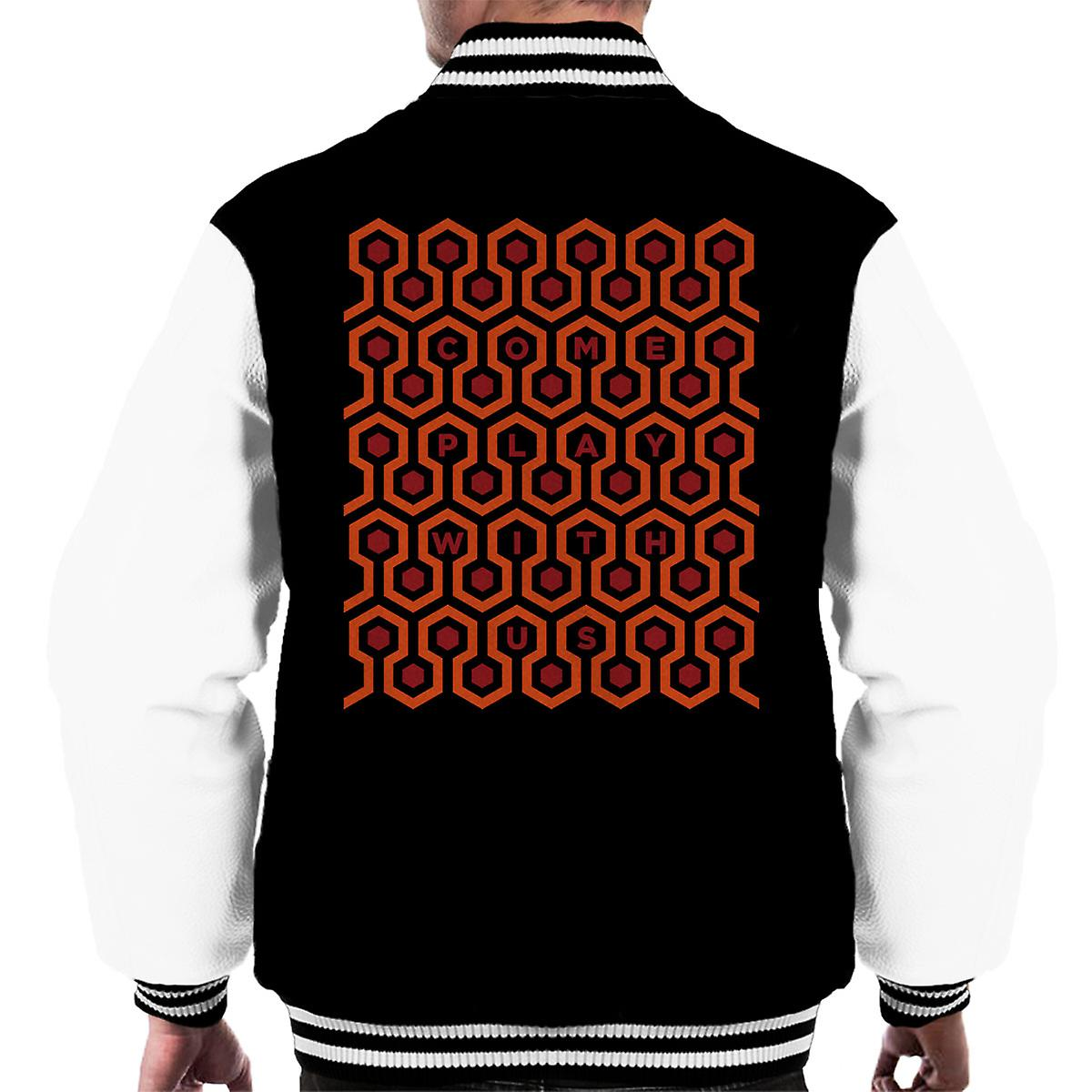 Come Play With Us: The Shining Come Play With Us Men's Varsity Jacket