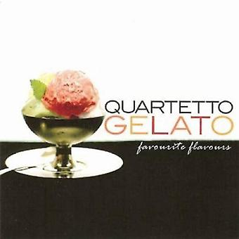 Quartetto Gelato - favorit varianter (bedste) [CD] USA import