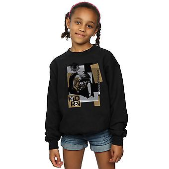 Star Wars Girls The Last Jedi Kylo Ren Patchwork Sweatshirt
