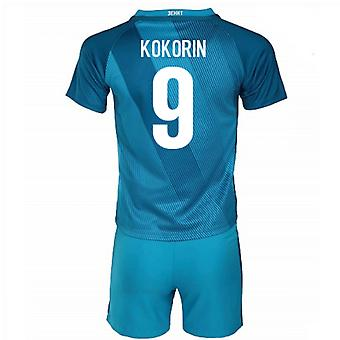 2016-17 Zenit St Petersburg casa Mini Kit (Kokorin 9)