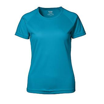 ID Womens/Ladies Game Active Short Sleeve Fitted T-Shirt