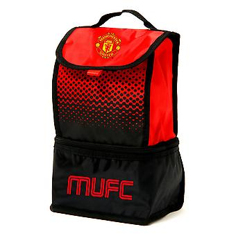 Manchester United FC Official Fade Insulated Football Crest Lunch Bag