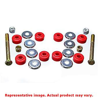 Energy Suspension Sway Bar End Link Bushing Set 16.8104R Red Front Fits:ACURA 1