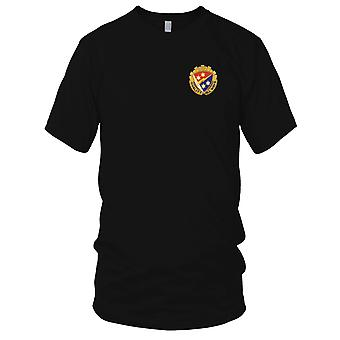 US Army - 369th Signal Battalion Embroidered Patch - Quality All Ways Mens T Shirt