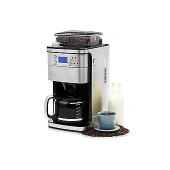 Andrew James Filter Coffee Machine With Integrated Grinder & 24 Hour Timer