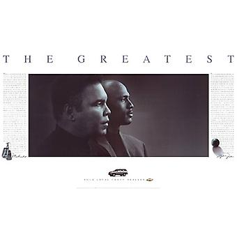 The Greatest Muhammad Ali & Michael Jordan Poster Print by Jim Secreto (37 X 23)