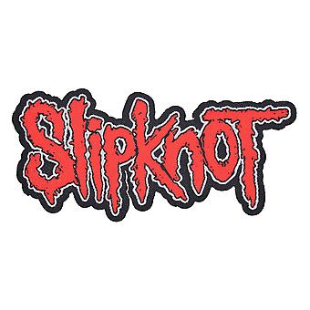 Slipknot Cut Out Logo Woven Patch