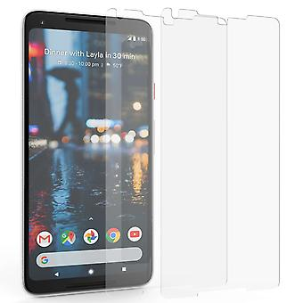 Google Pixel 2 XL Tempered Glass Screen Protectors - Twin Pack