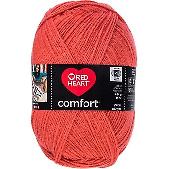 Red Heart Comfort Yarn-Coral E707D-3242