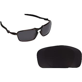 33b685ed5a7 Badman Replacement Lenses Polarized Black by SEEK fits OAKLEY Sunglasses