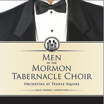 Mormon Tabernakel kor - mænd af Mormon Tabernakel: A glade lyd [CD] USA import