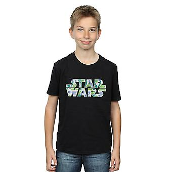 Star Wars Boys Palm Logo T-Shirt