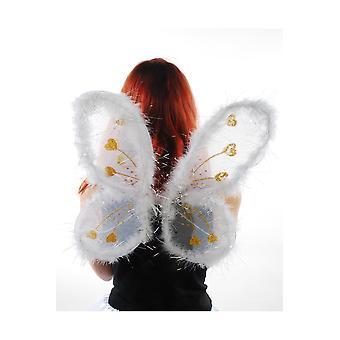 Weiße Engelsflügel Flügel
