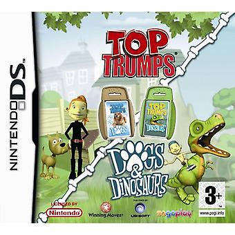 Top Trumps Dogs  Dinosaurs (Nintendo DS)
