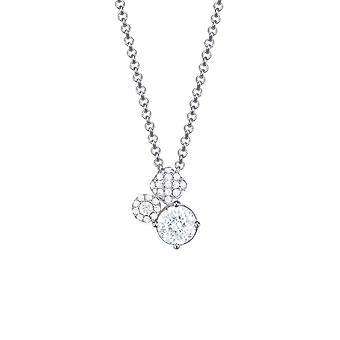 ESPRIT женщин цепи ожерелье серебро цирконий композиция ESNL93374A420