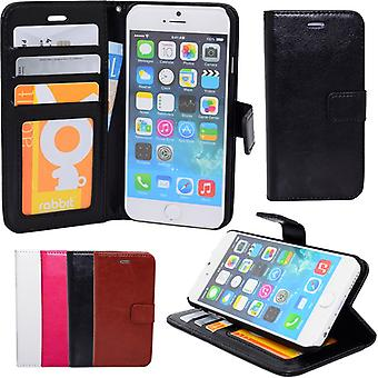 iPhone 5/5s/SEE-wallet pouch leather ID Pocket