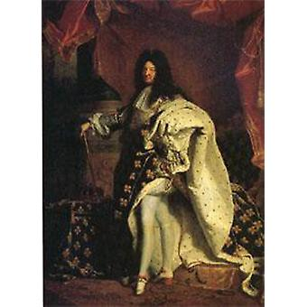 Louis XIV, King of France, Hyacinthe Rigaud, 50x40cm