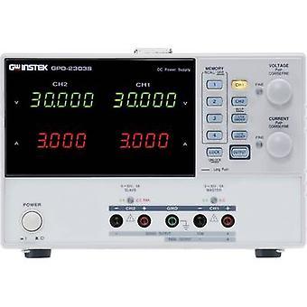 GW Instek Dag-3303S banc PSU (tension réglable) 0 - 30 v C.c. 1-3 A 195 W USB no des sorties 3 x