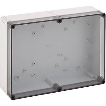 Build-in casing 180 x 110 x 84 Polycarbonate (PC), Polystyrene (EPS) Light gr