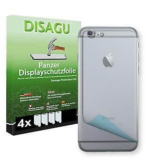 Apple iPhone 6s rear display - Disagu tank protector film protector (deliberately smaller than the display, as this is arched)