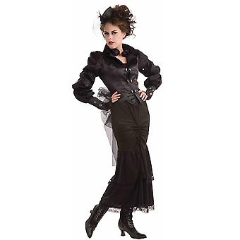 Steampunk Steam Punk Victorian Lady Industrial Gothic Western Womens Costume