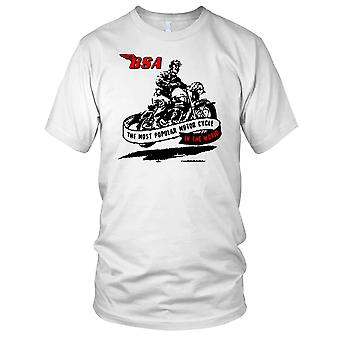 BSA The Most Popular Motor Cycle Kids T Shirt