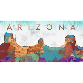 Arizona Poster Print by Dan Meneely