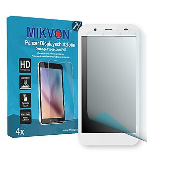 Krüger&Matz Flow 4S Screen Protector - Mikvon Armor Screen Protector (Retail Package with accessories)