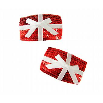 Waooh 69 - Cache-Teton gift with red Sequins