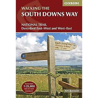 The South Downs Way - Winchester to Eastbourne - described in both dir