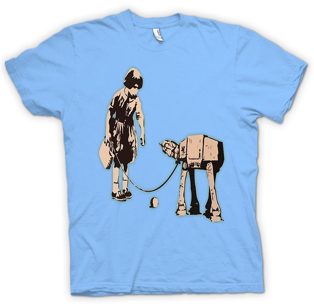 Herr T-shirt - Banksy graffitikonst - Fetch