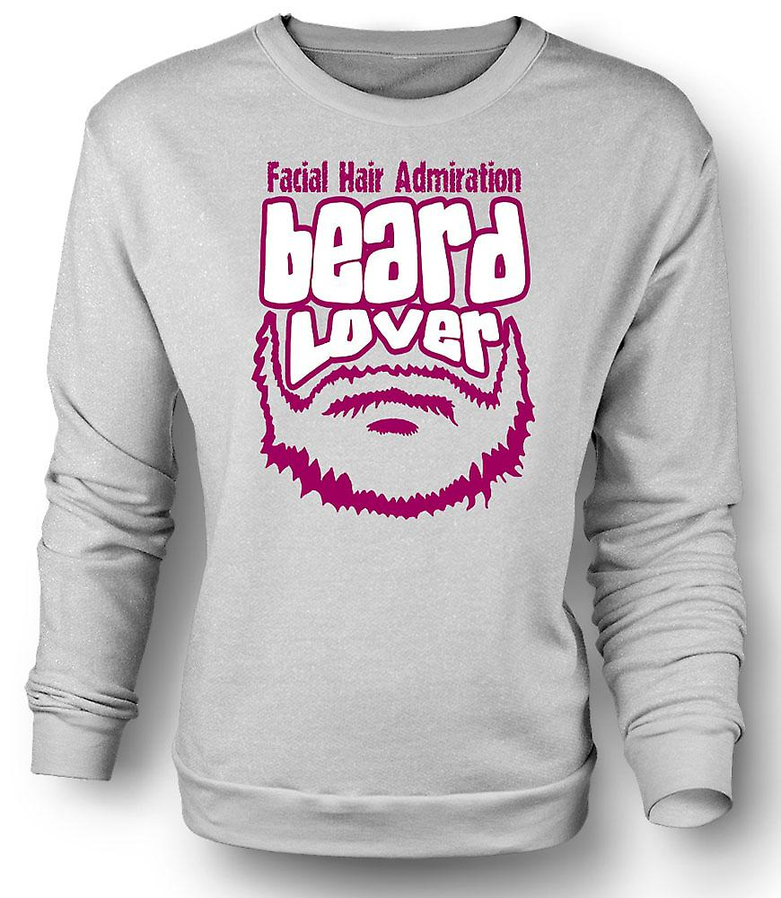 Mens Sweatshirt Beard Lover - Funny