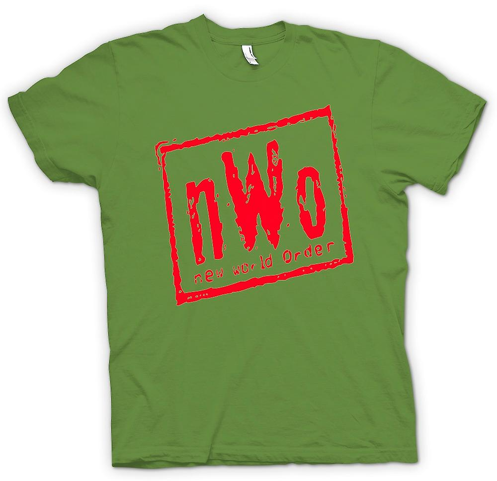 Mens T-shirt - NWO New World Order