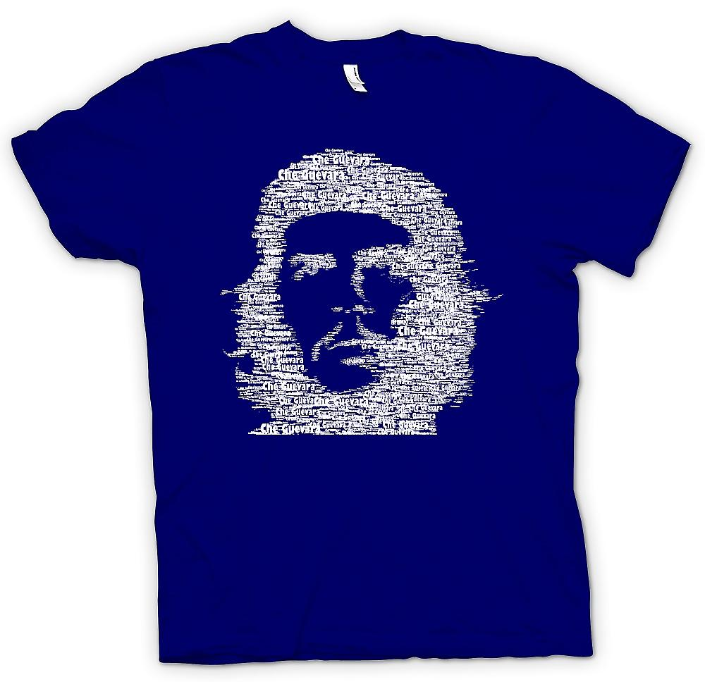 Mens T-shirt - Che Guevara Word Cloud - Cool