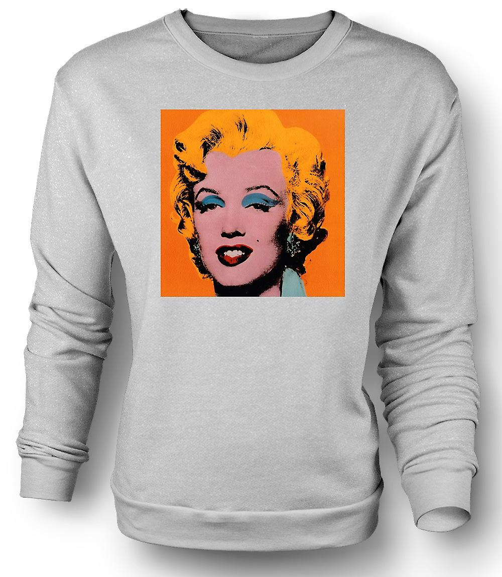 Mens Sweatshirt Marilyn Monroe - Warhol - Esq - Pop Art
