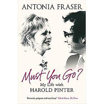 Måste du gå?: mitt liv med Harold Pinter