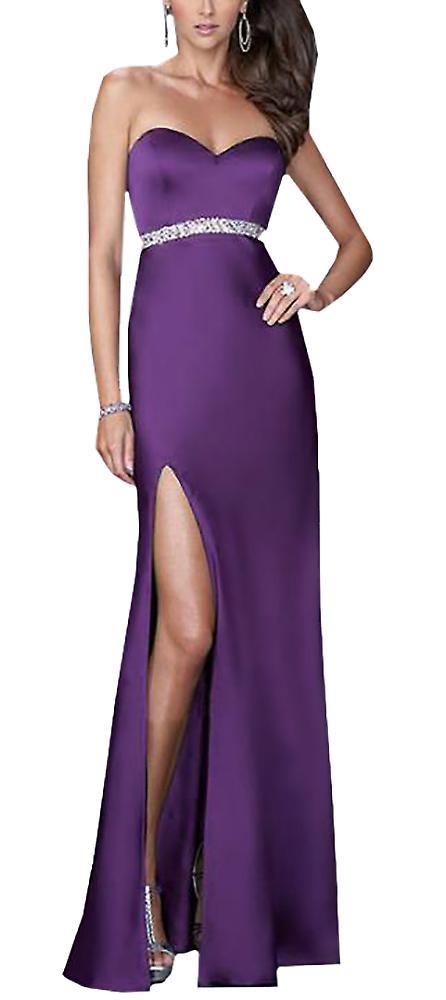 Waooh - split Dress with rhinestones on the side Ivor
