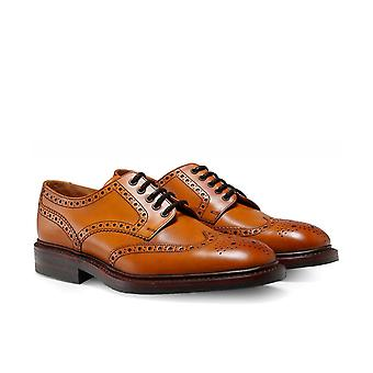 Loake Leather Chester Brogues