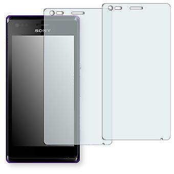 Sony Xperia M screen protector - Golebo crystal clear protection film