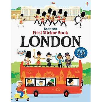 First Sticker Book London by James MacLaine - 9781474933438 Book