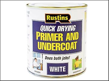 Rustins Quick Dry Primer & Undercoat White 250ml