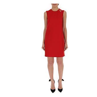 Valentino Red Cotton Dress